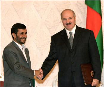 Махмуд Ахмадинежад и Александр Лукашенко: president.gov.by